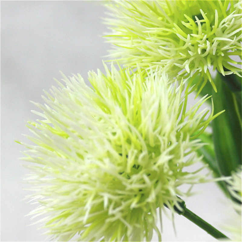 SUEF 1pcs שן הארי פרחי הבית דקורטיבי 25cm פלסטיק מזויף מלאכותי פרחי בית מסיבת חתונה ירוק אמיתי מגע דקור