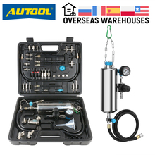 AUTOOL – injecteur de carburant C100 pour voiture, nettoyeur de Machine, testeur universel, outil de Non démontage, buse daccélérateur