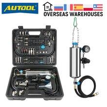 Ferramenta universal de limpeza do injetor de combustível, testador universal de máquina de limpeza do injetor de combustível autool, motor de carro, bico do acelerador