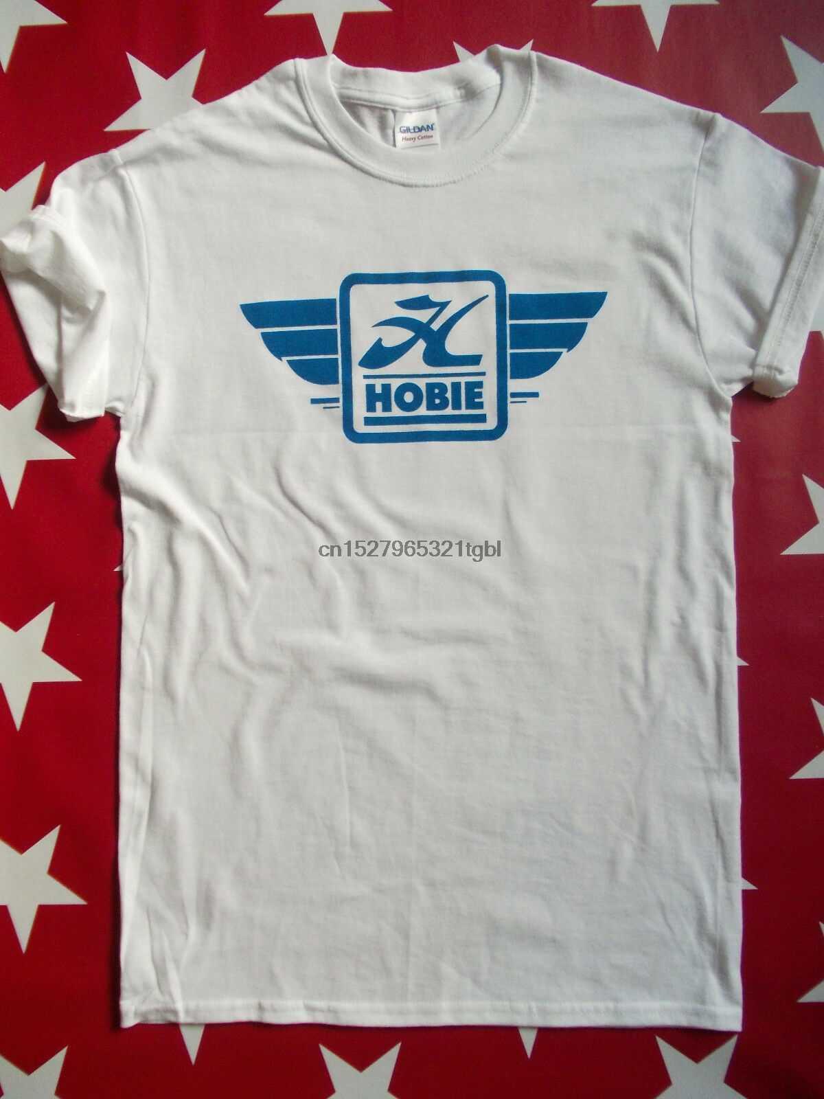 HOBIE 70s deskorolka Logo ekran Printe T-shirt S-XXL koła pokładu stary Skool