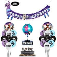 Festa de aniversário festa de aniversário festa de aniversário decoração do bolo cartão de inserção balão número do chuveiro do bebê balão feliz aniversário