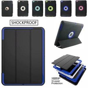 Чехол с полной защитой 360 градусов для apple ipad 2 3 4 9,7 дюйма, безопасный ударопрочный Прочный Твердый чехол из ТПУ с подставкой для IPad2/3/4