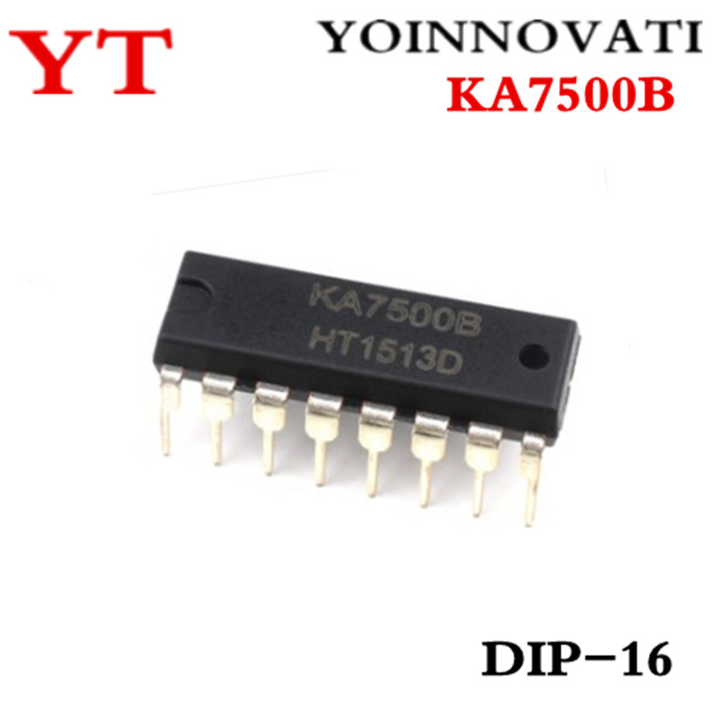 10pcs/lot KA7500B KA7500 7500 DIP16 IC Best Quality