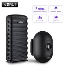 KERUI DW9 Outdoor Wireless Home Security Alarm Wasserdicht PIR Motion Infrarot Detektor Auffahrt Garage Fahrzeug Einbrecher Alarm