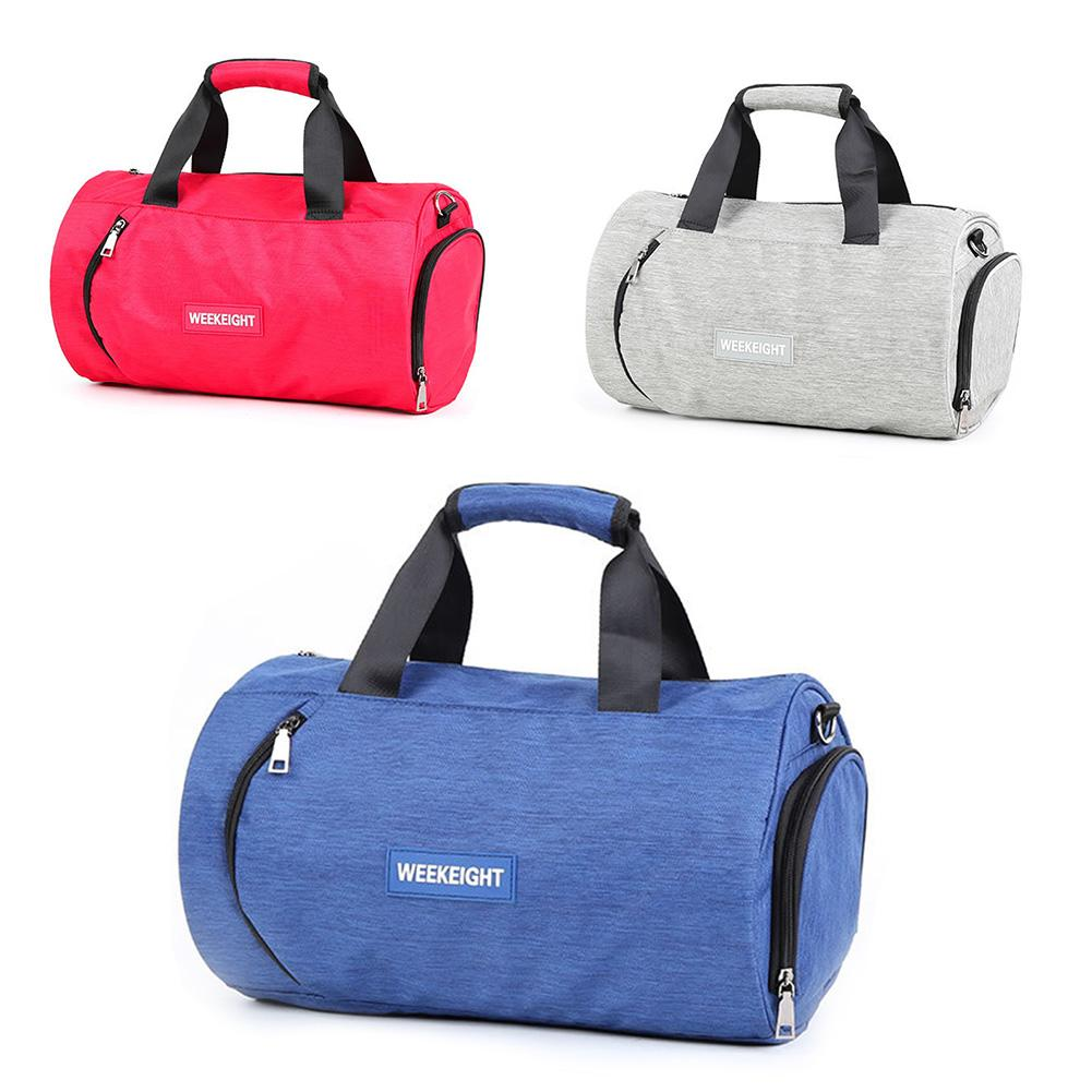 Fitness Bag Male Dry Wet Sports Bag Female Slung Large Capacity Short Travel Bag Portable Duffel Bag Swimming Bag