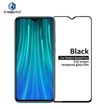 Für Xiaomi Redmi Hinweis 8 Pro Gehärtetem Glas Voll Bildschirm Abdeckung Aus Gehärtetem Glas Screen Protector Volle Schutzhülle