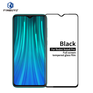 Image 1 - For Xiaomi Redmi Note 8 Pro Tempered Glass Full Screen Coverage Tempered Glass Screen Protector Full Protective