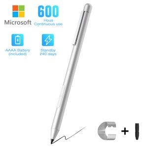 Image 1 - Yeni Stylus kalem Microsoft Surface 3 için/Go/kitap/Pro 3/4/5/6, (Palm reddi) aktif iğneli kalem ile 4096 basınç hassasiyeti