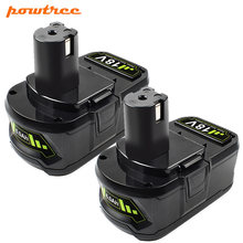 18v 60ah li ion rechargeable battery for ryobi one+ cordless