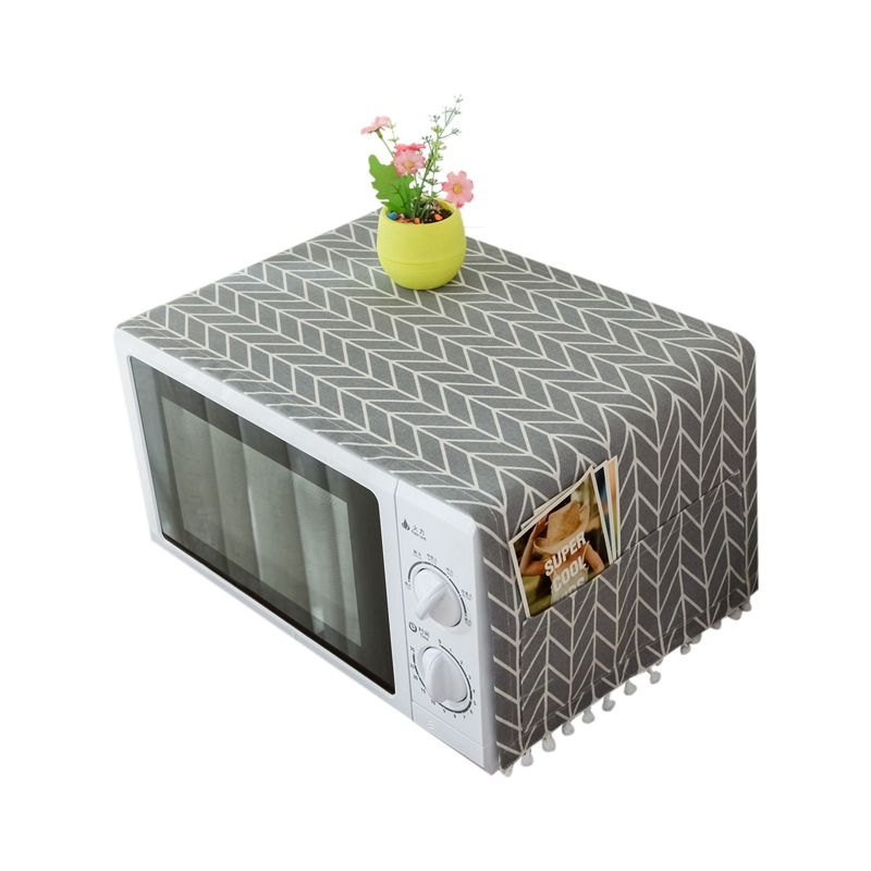 Range Hood Microwave Oven Dust Cover With Storage Bag Kitchen Accessories Home Decoration Supplies