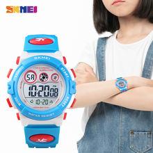 Skmei детские электронные цифровые часы Секундомер Хронограф
