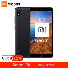 """Глобальная прошивка Xiaomi Redmi 7A 7 A 3 Гб оперативной памяти, 32 Гб встроенной памяти, мобильный телефон Snapdragon 439 Octa Core с распознаванием лица 5,45 """"экран 4000 мА/ч, 13MP Автомобильная камера заднего вида"""