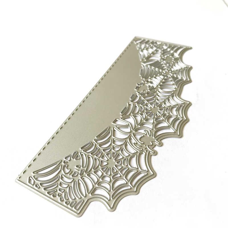 ハロウィンパイダーwebダイスカット金型金属カップル切削ダイス作るカードのためのnew 2020 クラフトボーダーダイス