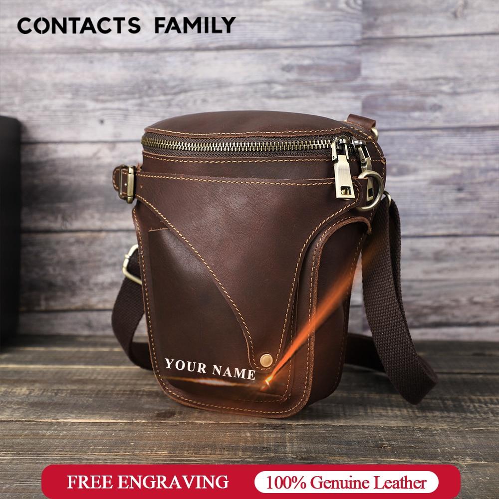 Men Messenger Bag Phone Pocket Crossbody Waist Bag For Men Shoulder Handbag Multifunction Male Small Flap Casual