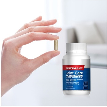 NutraLife Joint Care 60Capsules Healthy Cartilage Connective Tissue NEM Support Joint Comfort Flexibility Lubrication Cushioning image