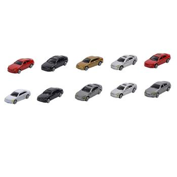 MagiDeal 10pcs HO Scale Model Mini Car Toy 1:87 Architecture Model Train Scenery image