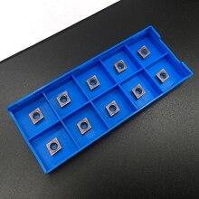 10 個超硬インサート CCMT060204 VP15TF インナーラウンドフライス工具の cnc ブレード旋盤ツール CCMT 060204 フライス工具