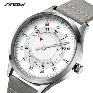 Image 1 - Sinobi חדש אופנה שעון Mens שעונים עם נירוסטה למעלה מותג יוקרה ספורט עמיד למים קוורץ שעון גברים Relogio Masculino