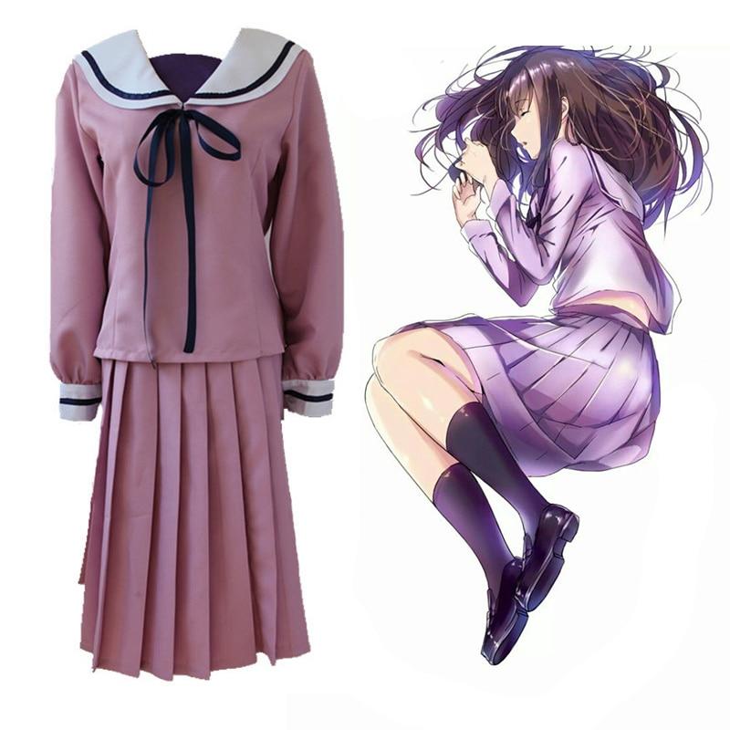 Anime Noragami Stray God Cosplay Costumes Hiyori Iki Cosplay Costume Dresses Halloween Party Noragami Women Cosplay Costume