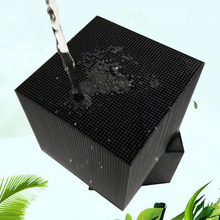 New Aquarium Filter Water Cube  Filter Material Fast Water Purification Contains Activated Carbon Adsorption Impurities direct selling promotion terminal purification clear ce water filters one stage pre filter transparent desktop carbon filter