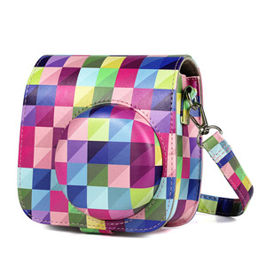 Image 3 - Fuji Fujifilm Instax Mini 9 Mini 8 Camera Bag PU Leather Instant Camera Accessories Shoulder Bag Protector Cover Case With Strap