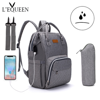 LEQUEEN Fashion Mummy Maternity Diaper Bag Large Nursing Bag Travel Backpack Designer Stroller Baby Bag Baby Care Nappy Backpack insular diaper bag backpack fashion mummy maternity nappy bag travel designer large capacity stroller baby bag for baby care