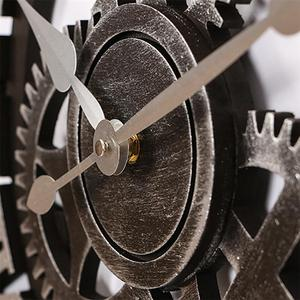 Image 4 - 산업 기어 벽 시계 장식 레트로 MDL 벽 시계 산업 시대 스타일 룸 장식 벽 예술 장식