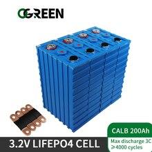 Ogreen 4 stücke CALB200AH LiFePO4 batterie Lithium-Eisen Phosphat 12V400AH 24V200AH ZELLE nicht 180AH 150AH 100Ah UNS EU steuer freies