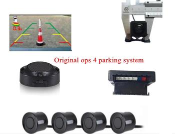 4 sensor parking DVD monitor parking camera system OSD colorful rear view camera+buzzer alarm video visible Systems Parking 4