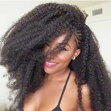 Youngther Afro Kinky Marley Crochet Braids Hair 18Inch Synthetic Braiding Hair Crochet Braids Hair Extensions for Women