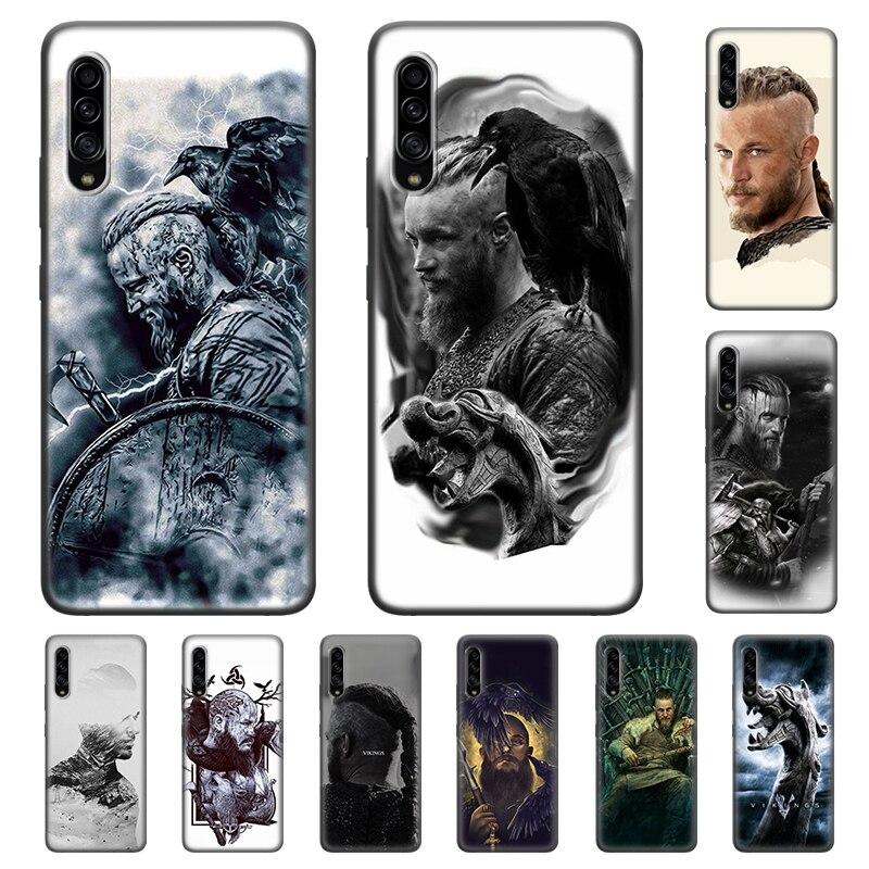 Case for Samsung Galaxy A6 A7 A8 A9 Plus 2018 A10 A20 A30 A40 A60 A10E A10S A20E A20S A30S A90 5G vikings serie Colorful