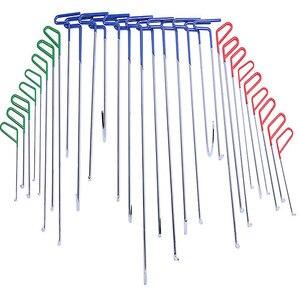30 шт. в 1 PDR инструменты для крючков, шток для автомобиля, инструменты для ремонта вмятин без короны, комплекты подъемников для вмятин, компле...