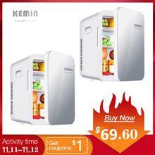 Холодильник для автомобиля 20 л, мини холодильник для автомобиля, однодверный холодильник для студентов двойного использования, однодверный холодильник Ke Mi n 20 л