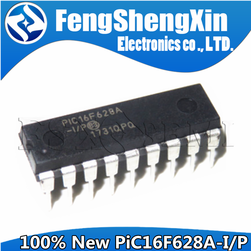 Microcontrollers Nanowatt-Technology DIP-18 PIC16F628A New with 1pcs 8-Bit CMOS