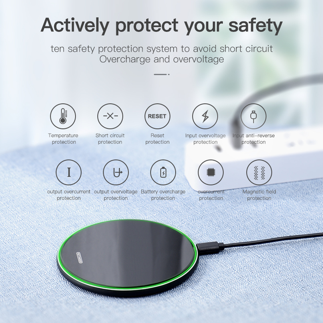 Mirror Wireless Charging Pad