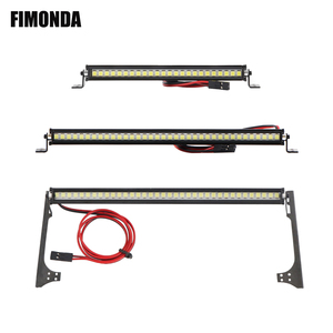 RC Car Roof Lamp 24 36 LED Light Bar for 1/10 RC Crawler Axial SCX10 90046 90060 SCX24 Jeep Wrangler JK Rubicon Body(China)