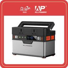 Allpowers 110v 220v ac estação de energia onda senoidal pura gerador portátil alimentando carro geladeira tv zangão laptops