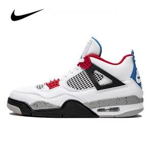Nike Air Jordan 4 SE What the 4 GS женская Баскетбольная обувь Оригинальные высокие удобные спортивные уличные кроссовки 408452-146