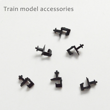 20pcs N scale 1/160 Model Train Alloy Coupler Accessory Miniature Railway Parts For Diorama Locomative Kit