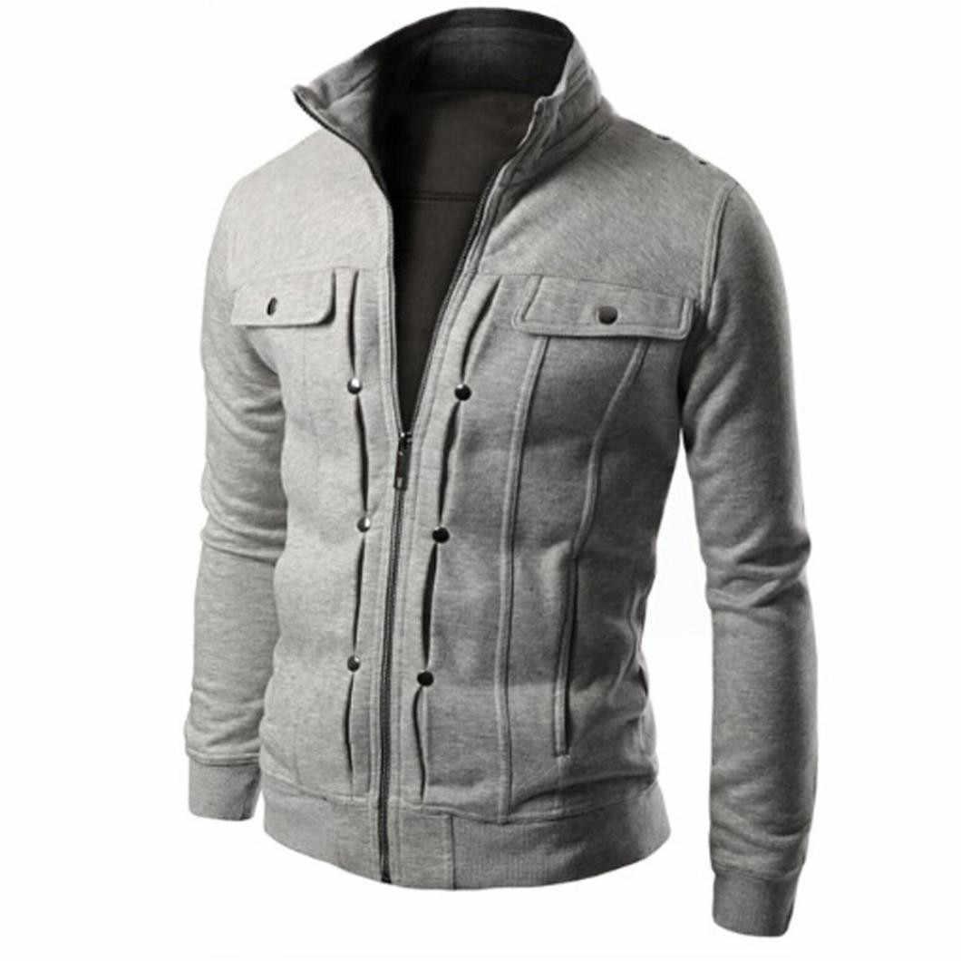 KANCOOLD весна осень Мужская куртка мужская куртка Верхняя одежда с длинными рукавами Мужская военная куртка мужская брендовая одежда пальто Мужская 731