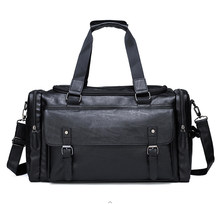Large Tote Shoulder men Handbags New Designer Backpack Sports Mens Male Overnight Female PU Leather Travel Duffle Bags