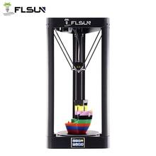 FLSUN QQ S PRO طابعة ثلاثية الأبعاد قبل تجميعها دلتا كوسيل شاشة تعمل باللمس واي فاي وحدة مطبوعة كبيرة الحجم 255*255*360 مللي متر