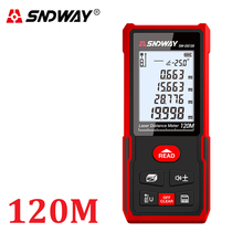 SNDWAY 디지털 레이저 거리 측정기 거리 측정기 눈금자 40M 50M 60M 70M 80M 100M 120M trena finder 테이프 거리 측정기 테스터 도구