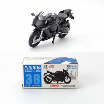 Caipo 1:18 Yamah YZF-R1 Alloy&Plastic Motorcycle For Boy Toy Collection Friend Children Gift image