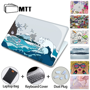 Image 1 - MTT Crystal Case For Macbook Air Pro 11 12 13 15 16 inch With Touch ID 2020 Plastic Hard Cover Laptop Bag a2289 a2251 a2179