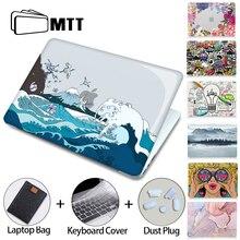 Прозрачный чехол MTT для Macbook Air Pro 11, 12, 13, 15, 16 дюймов с Touch ID 2020, пластиковый жесткий чехол, сумка для ноутбука a2289, a2251, a2179