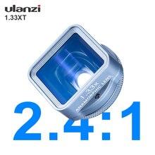 Ulanzi 1.33XT anamorficzny telefon torba na obiektyw filtr zestaw dla iPhone 12 11 Pro Max Huawei P20 P30 Pro Mate Filmmaking telefon obiektyw aparatu