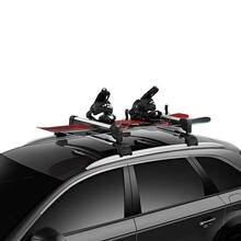 Универсальная Лыжная стойка mosatp для легковых автомобилей