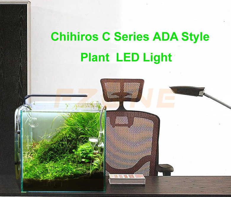 Chihiros oświetlenie led do akwarium Clip-on oprawa wodoodporna z regulacja jasności dla ryb i roślin lampa stołowa Hightlight A