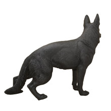 German Shepherd Model Toy Forest Wild Animal Home Decoration Children Education Gift(China)